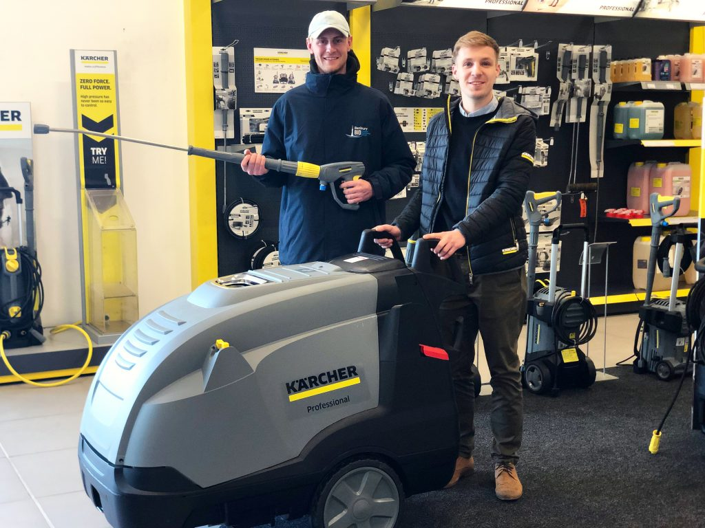 Nate with Karcher